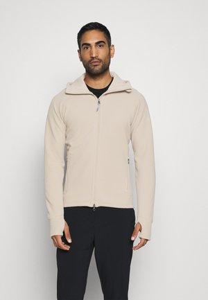 MONO AIR - Zip-up hoodie - sandstorm