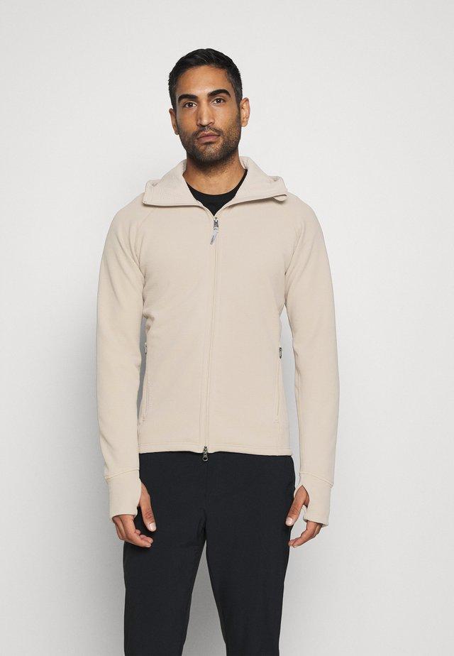 MONO AIR - veste en sweat zippée - sandstorm