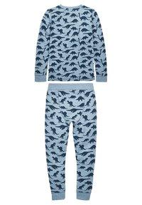Next - set - Kalhoty - blue - 1