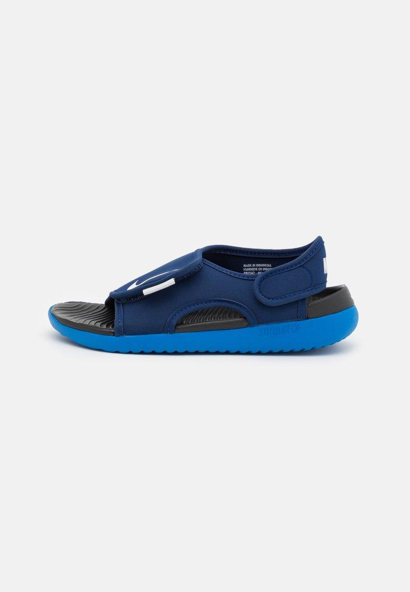 Nike Performance - SUNRAY ADJUST 5 UNISEX - Vandringssandaler - blue void/pure platinum/signal blue/black