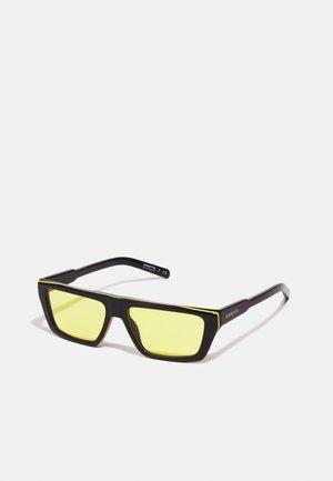 UNISEX - Sunglasses - black/yellow/black