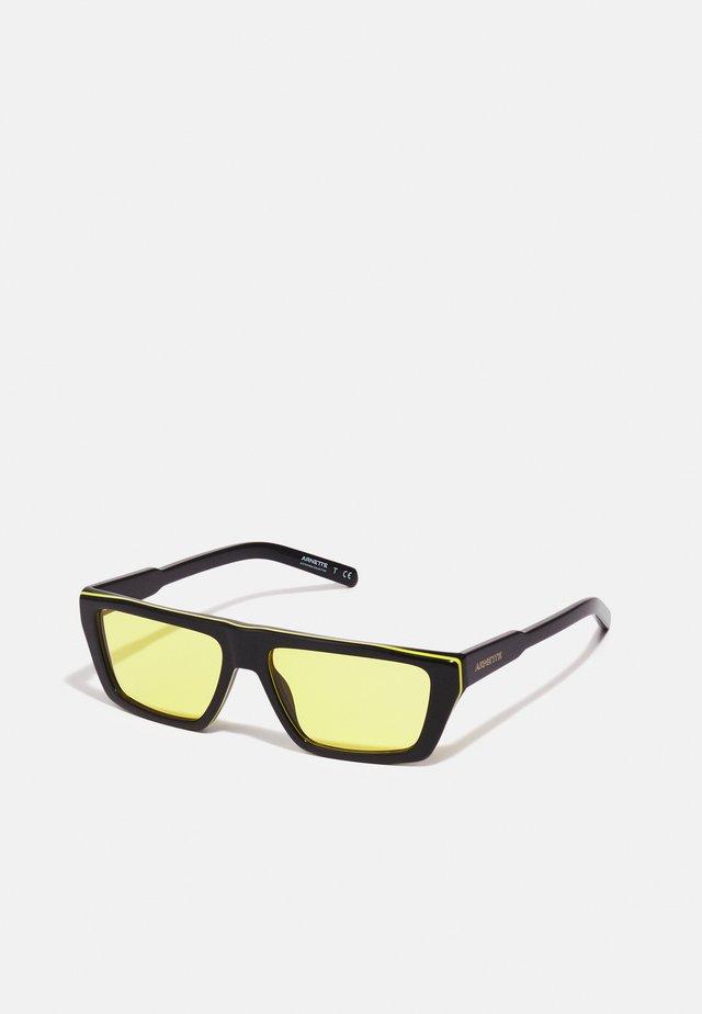 UNISEX - Sluneční brýle - black/yellow/black