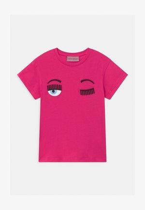 KIDS FLIRTING - T-shirt z nadrukiem - fuchsia
