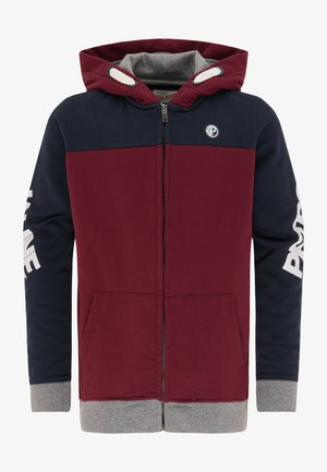 Zip-up hoodie - deep navy