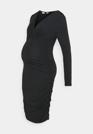 MLAIMY TESS DRESS - Pouzdrové šaty - black
