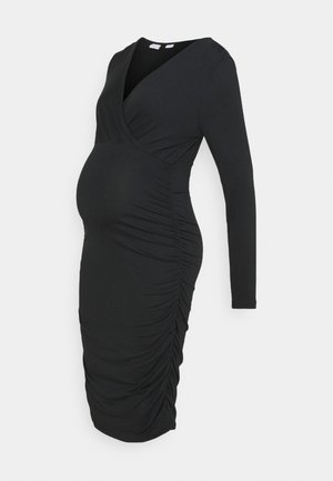MLAIMY TESS DRESS - Shift dress - black