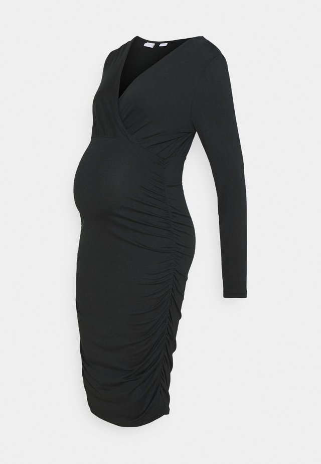 MLAIMY TESS DRESS - Shift dress - black