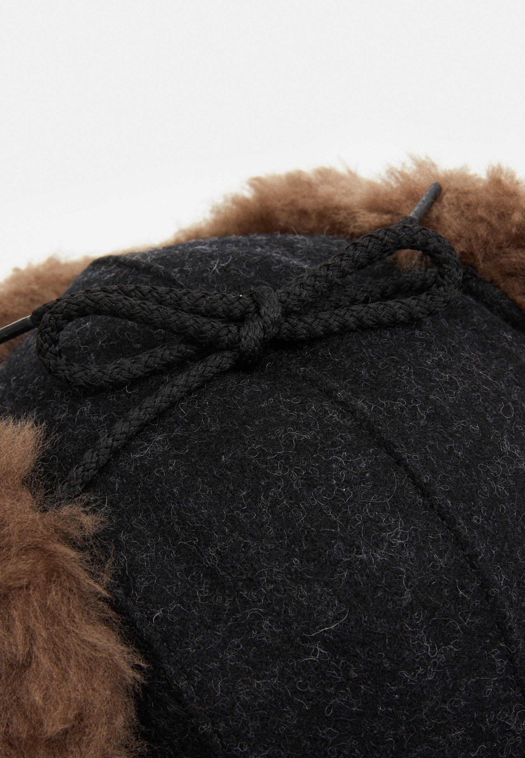 Filson Double Mackinaw Cap - Black/schwarz