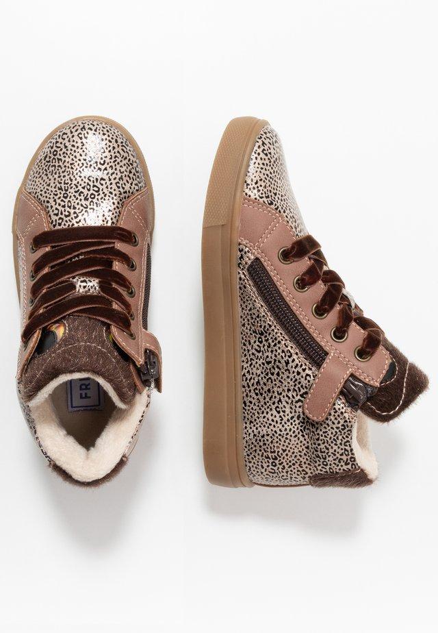 Sneakers hoog - mauve