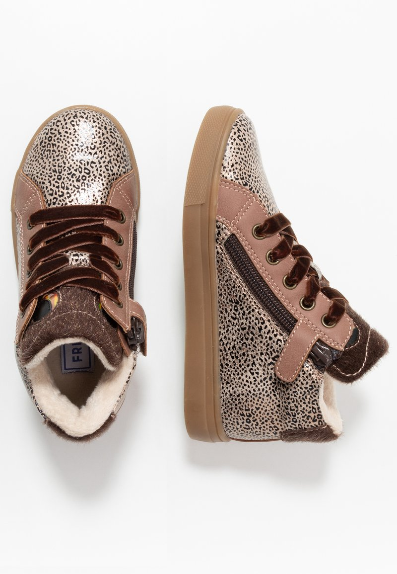 Friboo - High-top trainers - mauve