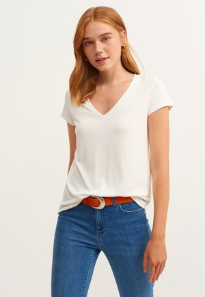 Basic T-shirt - ice milk