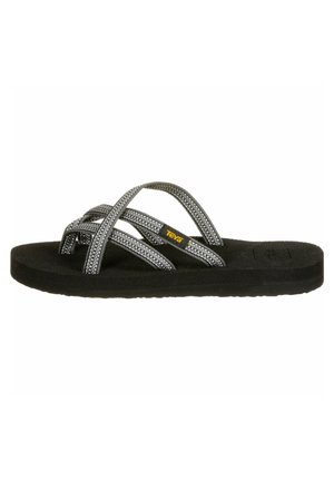 OLOWAHU  - T-bar sandals - antiguous grey