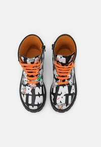 Marni - Lace-up ankle boots - black/multicolor - 3