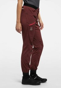 Haglöfs - L.I.M FUSE PANT WOMAN - Outdoor trousers - maroon red - 2