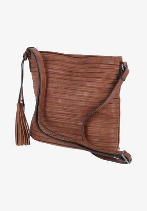 CARINA - Across body bag - braun