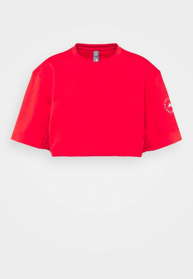 CROP TEE - T-shirt print - vivred
