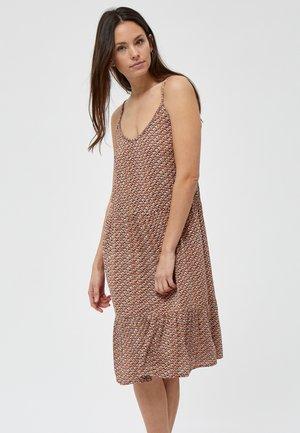Korte jurk - hazel sea shell print