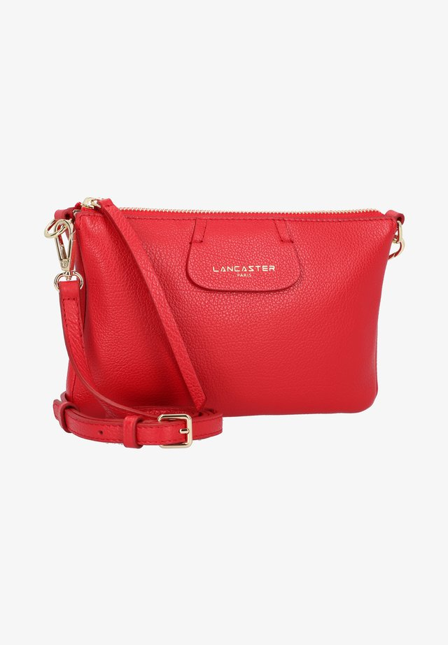 DUNE UMHÄNGETASCHE LEDER 21 CM - Across body bag - rouge