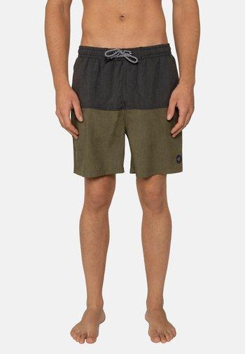 Swimming shorts - camo green