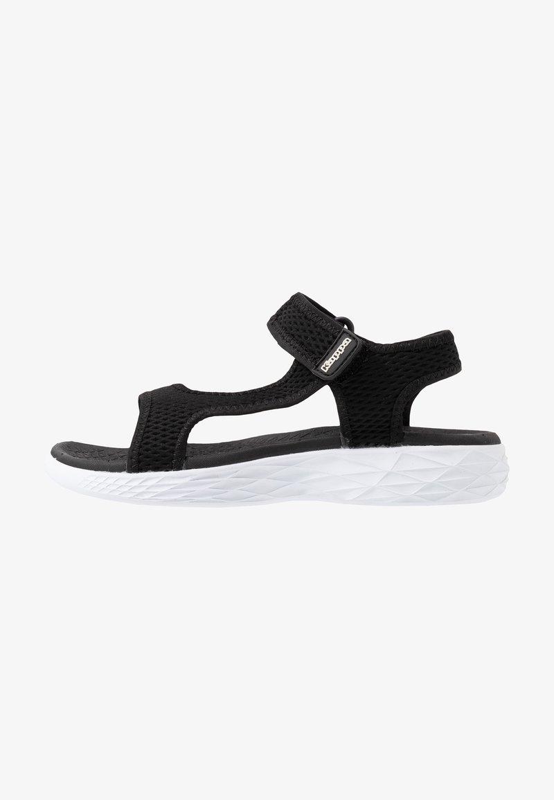 Kappa - VEDITY II - Chodecké sandály - black/white