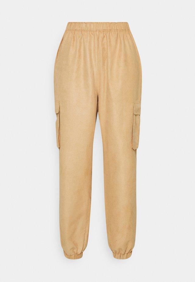 WIDE LEG TROUSER - Cargo trousers - peach