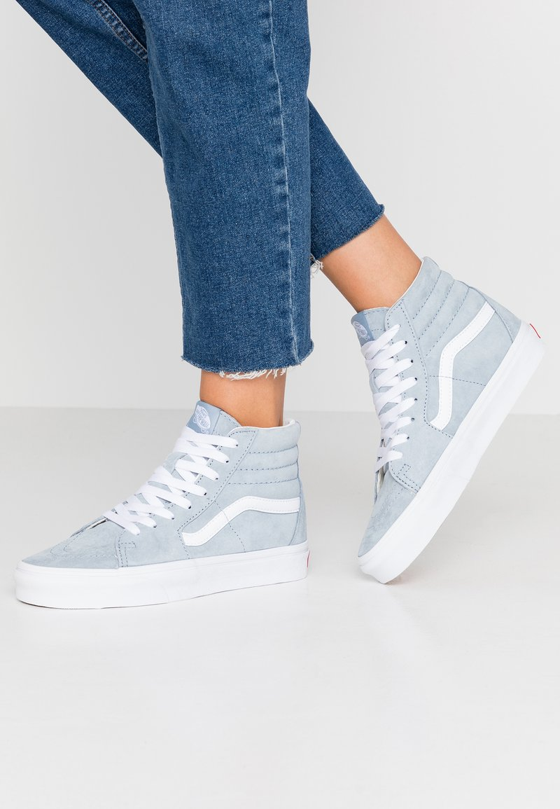Vans - Sneakers high - blue fog/true white