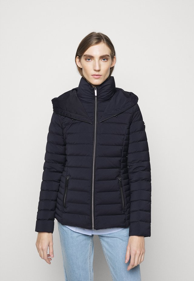 STRETCH PACKABLE PUFFER - Dunjacka - dark navy