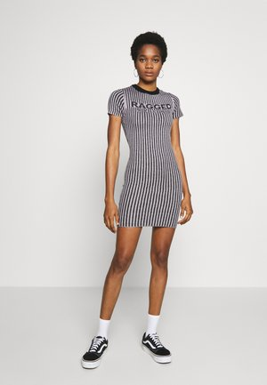 PLATED RINGER DRESS - Jumper dress - lilac/black