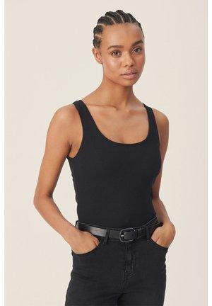 OLIVIE RIB  - Topper - black