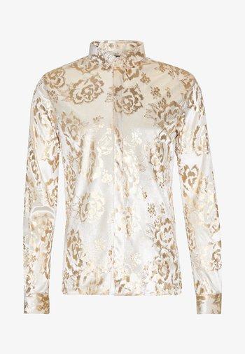 GAINES SHIRT - Camisa - champagne