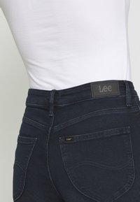 Lee - SCARLETT HIGH - Jeansy Skinny Fit - worn ebony - 6