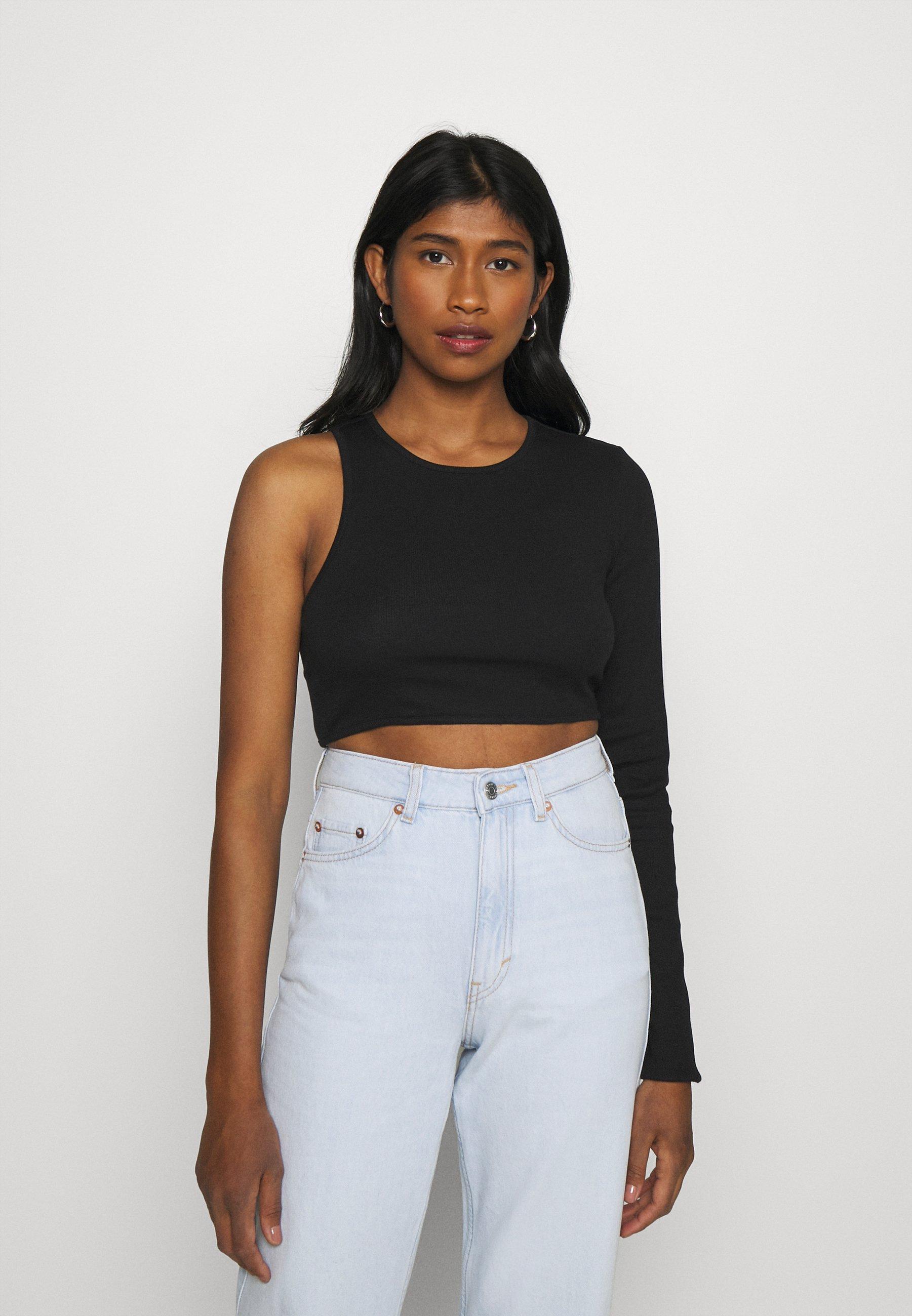 Women LEONIE CUT OUT LONGSLEEVE - Long sleeved top