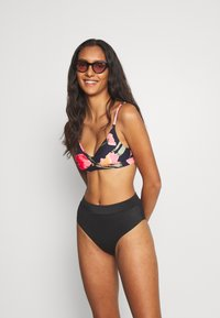 Seafolly - SUMMER MEMOIRS TWIST FRONT BRALETTE - Bikini top - indigo - 1
