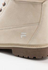 Fila - MAVERICK - Lace-up ankle boots - oyster grey - 2