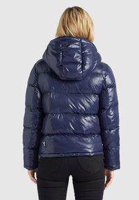 khujo - CAMILLE - Giacca invernale - dunkelblau glänzend - 2