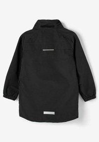 Name it - Waterproof jacket - black - 4