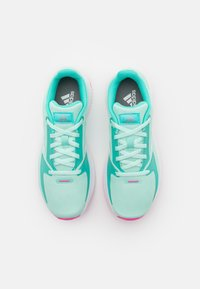 adidas Performance - RUNFALCON 2.0 UNISEX - Neutral running shoes - clear mint/footwear white/acid mint - 3