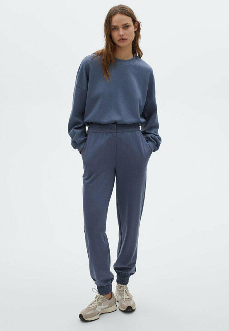 Massimo Dutti - Pantalon de survêtement - dark blue