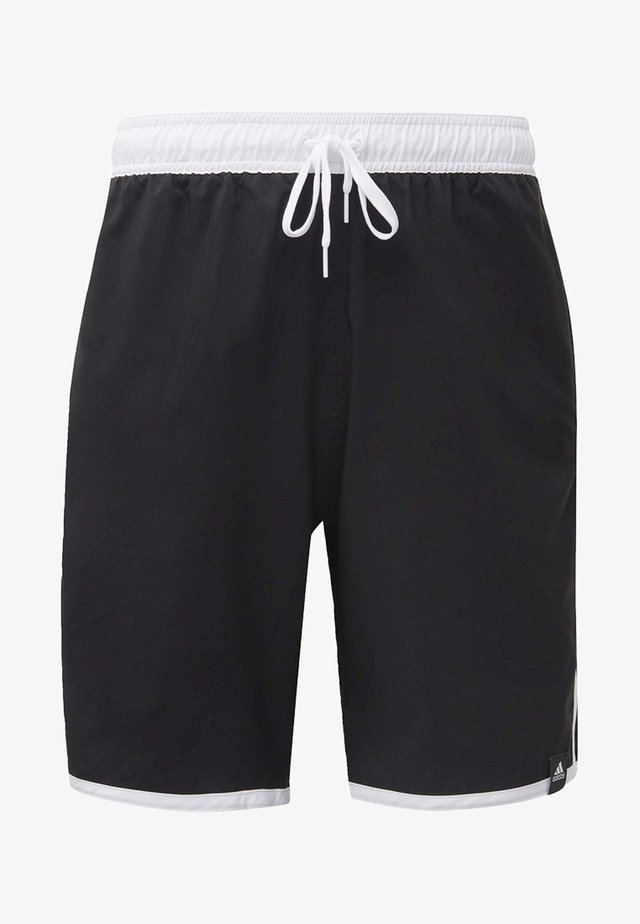 3-STRIPES CLX SWIM SHORTS - Badeshorts - black