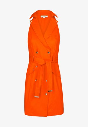 Shirt dress - orange