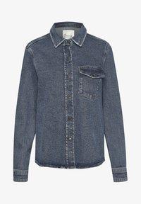 My Essential Wardrobe - Button-down blouse - medium blue retro wash - 4