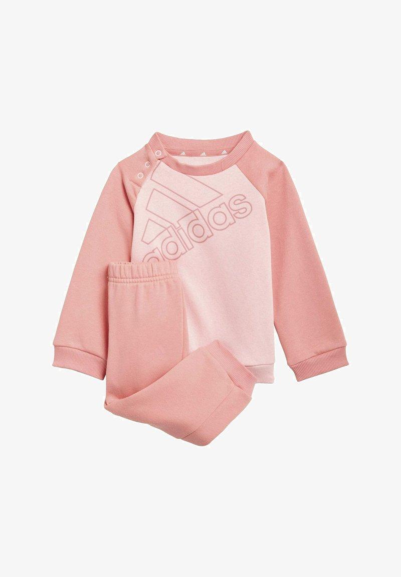 adidas Performance - FLEECE SWEATSHIRT SET - Chándal - pink