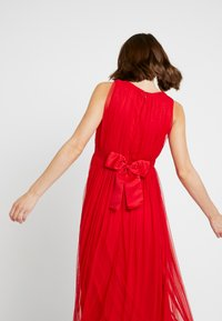 Anaya with love Maternity - V FRONT DRESS WITH BOW AND GATHERED - Robe de cocktail - poppy red - 5