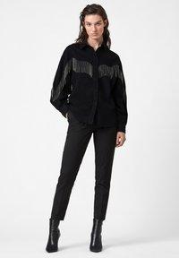 AllSaints - SANDRA JAINE  - Button-down blouse - black - 1