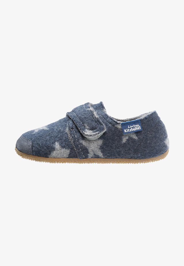 Slippers - blue/grey