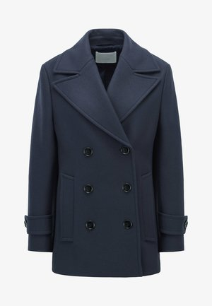 CAPEAKA - Short coat - open blue