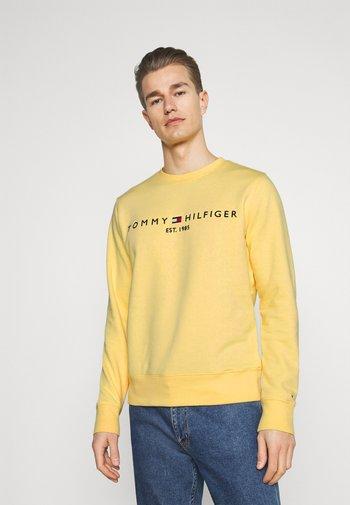 LOGO  - Sweatshirt - delicate yellow