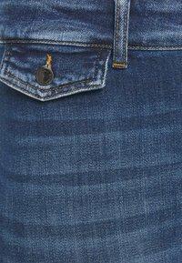ONLY Carmakoma - CARKAYA LIFE POCKET - Slim fit jeans - dark blue denim - 2