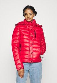 Superdry - SHINE FUJI  - Winter jacket - rouge red - 0