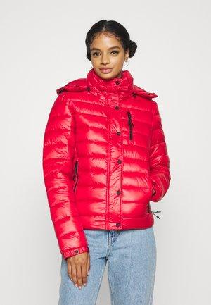 SHINE FUJI  - Winter jacket - rouge red